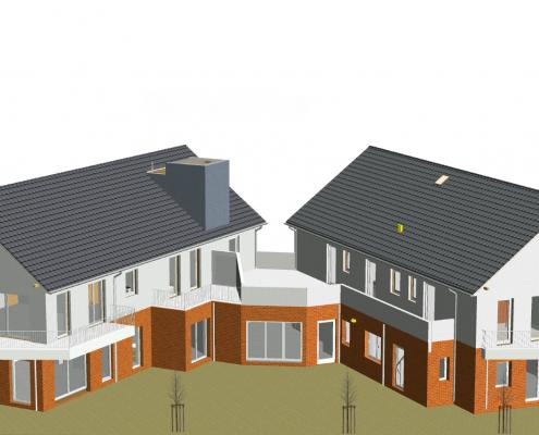 KfW40Plus , Mehrfamilienhaus, Mehrgenerationenhaus, Mehrparteienhaus, barrierefrei , Heide-Bau GmbH, energieeffizientes Bauen